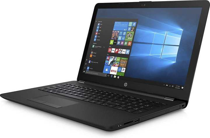 "HP 15-db0000au AMD Dual-Core E2-9000e Processor (1.5 GHz up to 2 GHz),4 GB DDR4 Ram,500 GB 5400 rpm SATA,15.6"" WLED-backlit (1366 x 768) - Laptop"