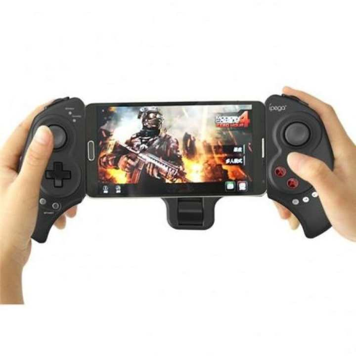 iPega PG - 9023 Practical Stretch Bluetooth Game Controller Gamepad Joystick with Stand - BLACK