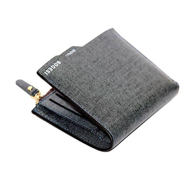 13ec2360f25 Grey Bogesi Leather Wallet For Men