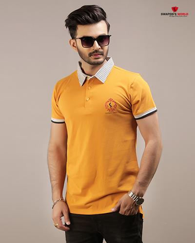 c3bdfc91a34 Half Sleeve Men s Polo T-Shirt By Swapon s World Code- SW6018PO