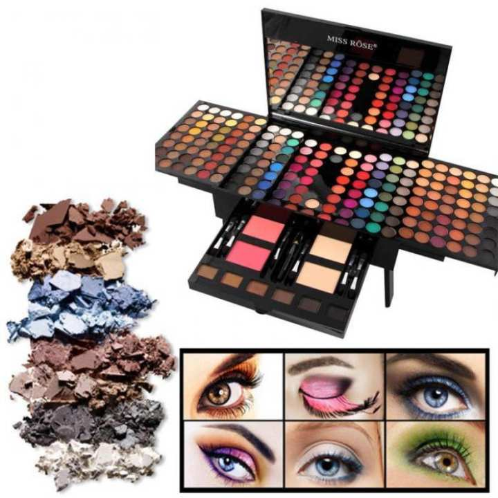 Miss Rose Makeup Box eyeshadow 180 Colors