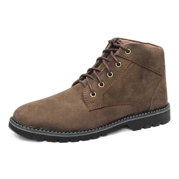 Brown Caterpillar (CAT) Full Leather Boot for Men