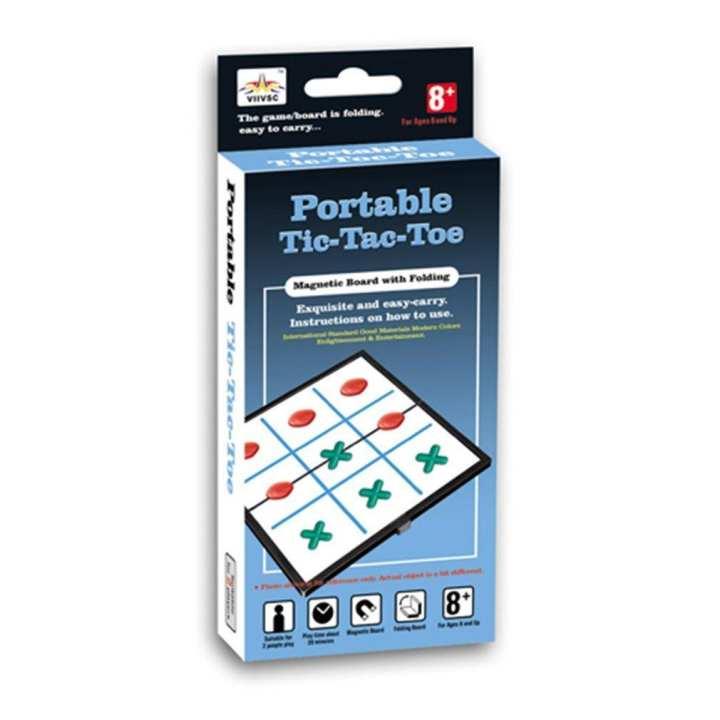 Folding Magnetic Tic-tac-toe