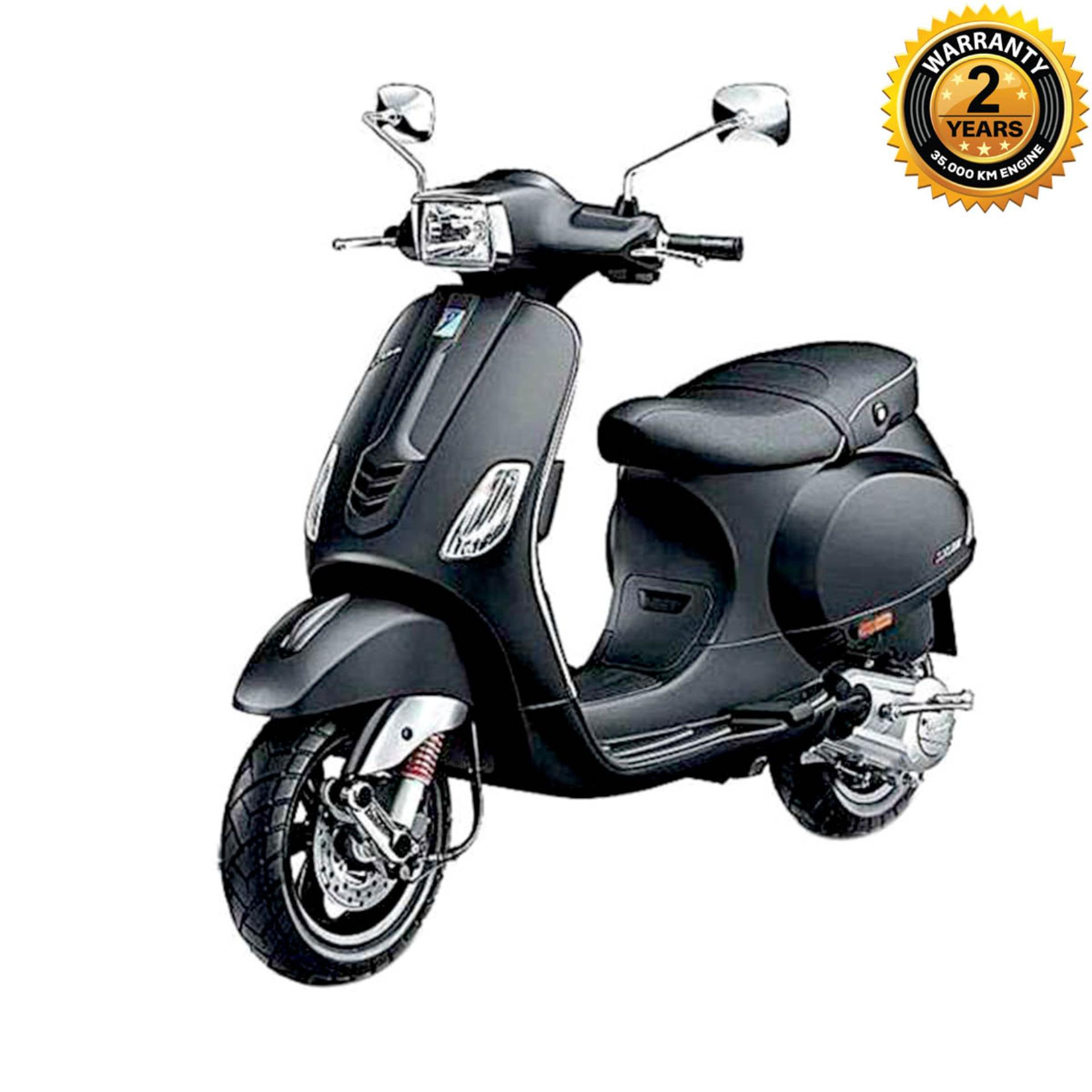 SXL125 125cc Scooter - Matte Black