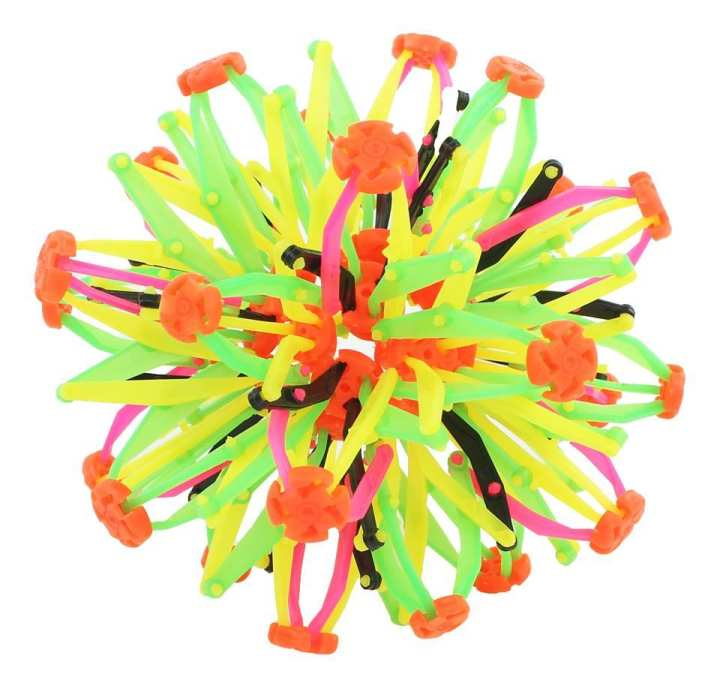 Educational Toy, Geometric Hand Catch Flower Expandable Ball For Kids