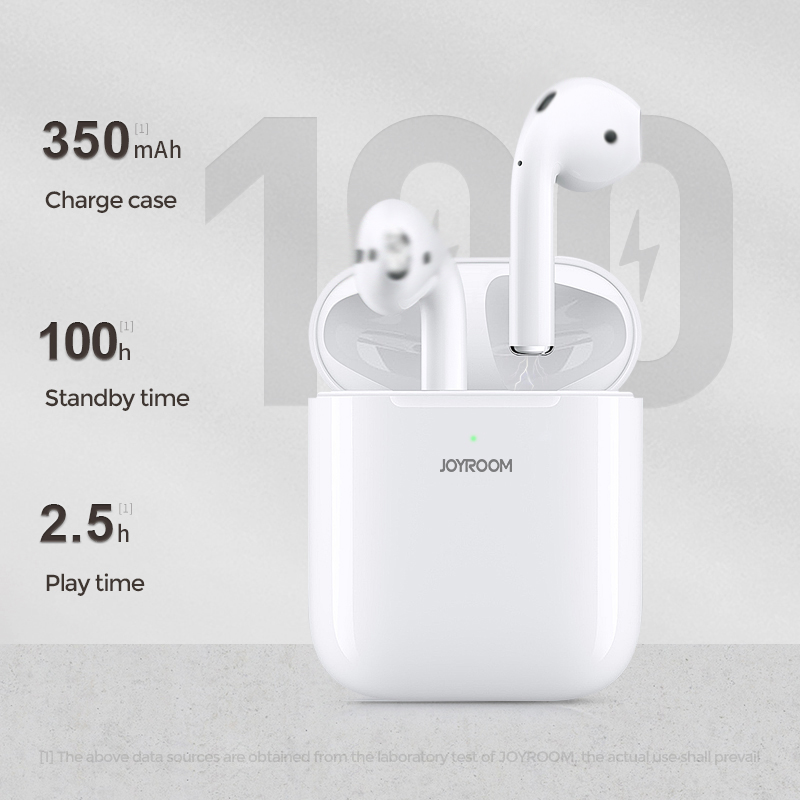 Joyroom JR-TL3 TWS Bluetooth Earbuds Power Display In-Ear Detection  Wireless Charging Wireless Headset + Free Gift Silicon Case: Buy Online at  Best Prices in Bangladesh | Daraz.com.bd