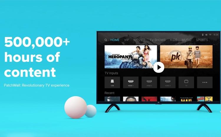 Global Version  Xiaomi TV V52R Xiaomi 4A 32 inch 1366x768 LED Smart Television  Ultra-thin 1GB Ram 4GB Rom Game Play Display