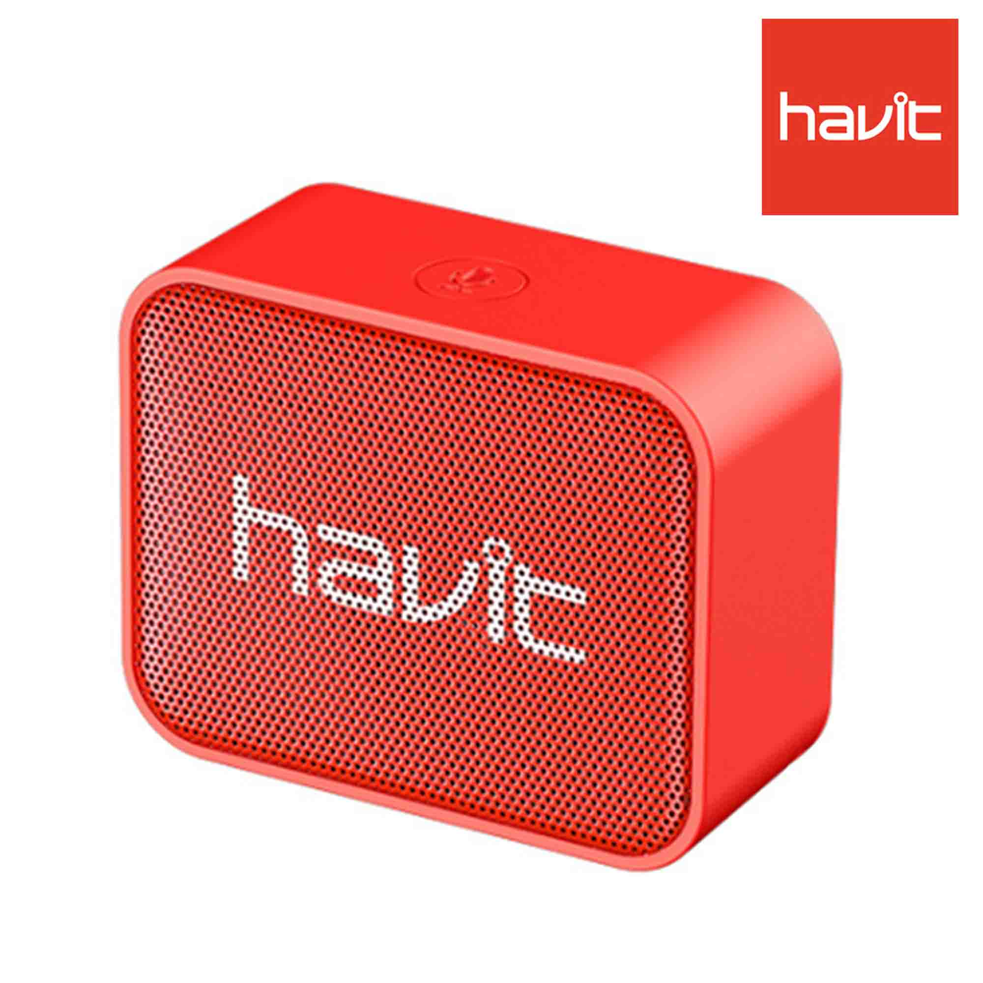 Havit MX702 Portable Bluetooth Speaker-Red