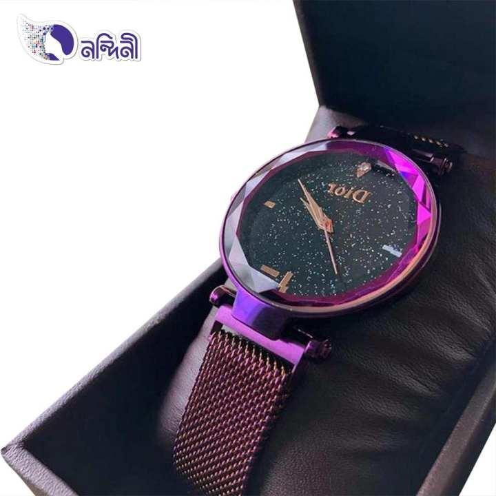 Analog Watch for Women - Purple