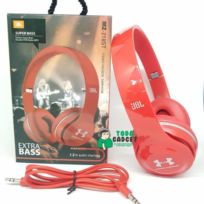 34abaacfd10 UNDER ARMOUR JBL MZ-218ST Super Bass Headphones (Foldable)