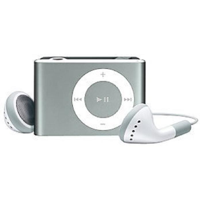 Mini Metal Clip MP3 Player - Ash Lemon