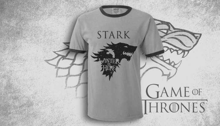 Games of Thrones Stark T-shirt