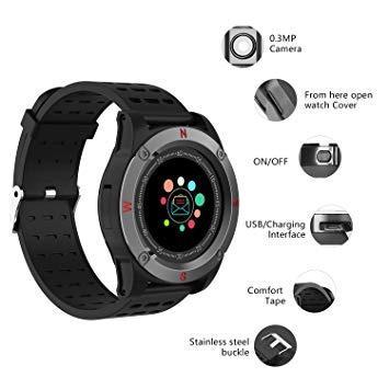Bluetooth Smart Watch ST5 Sport Passometer Smartwatch with Camera Support