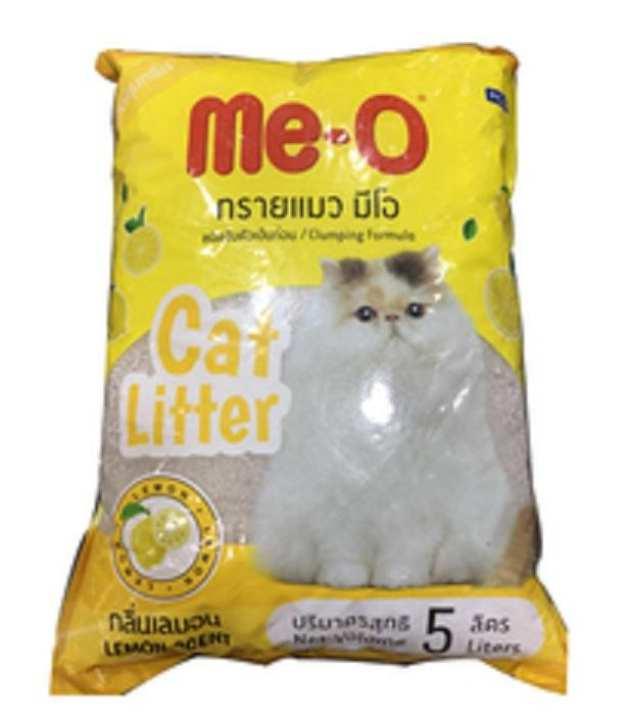 Me-O Cat Litter Lemon Flavor (5lt)