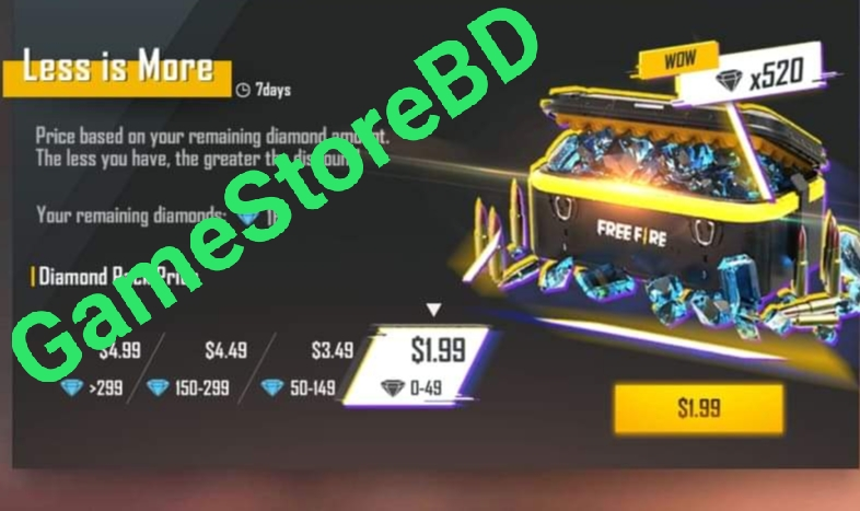 Free Fire Game Keys Online At Best Price In Bangladesh Daraz Com Bd