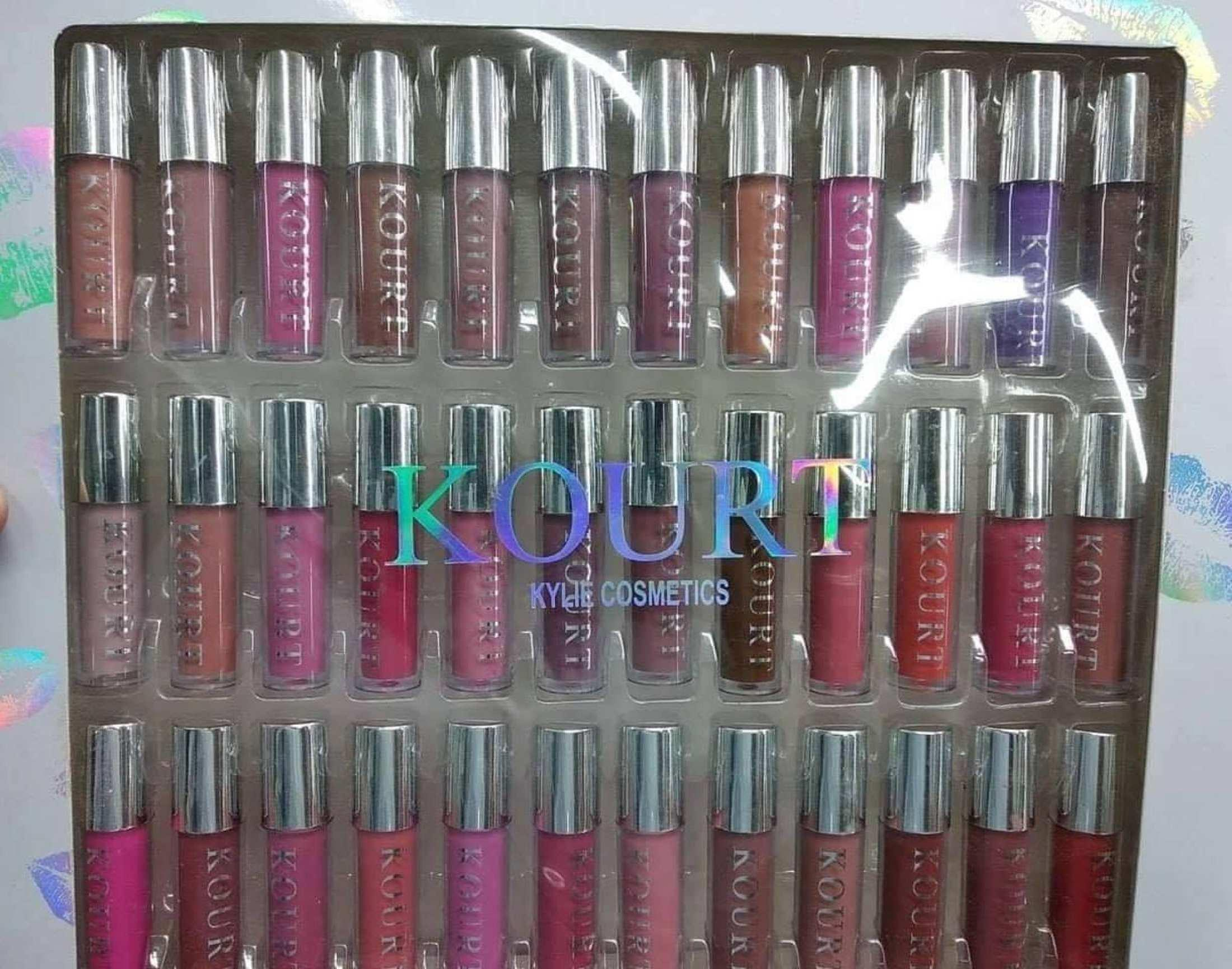 kylie liquid matte Lipstic set 36 pieces