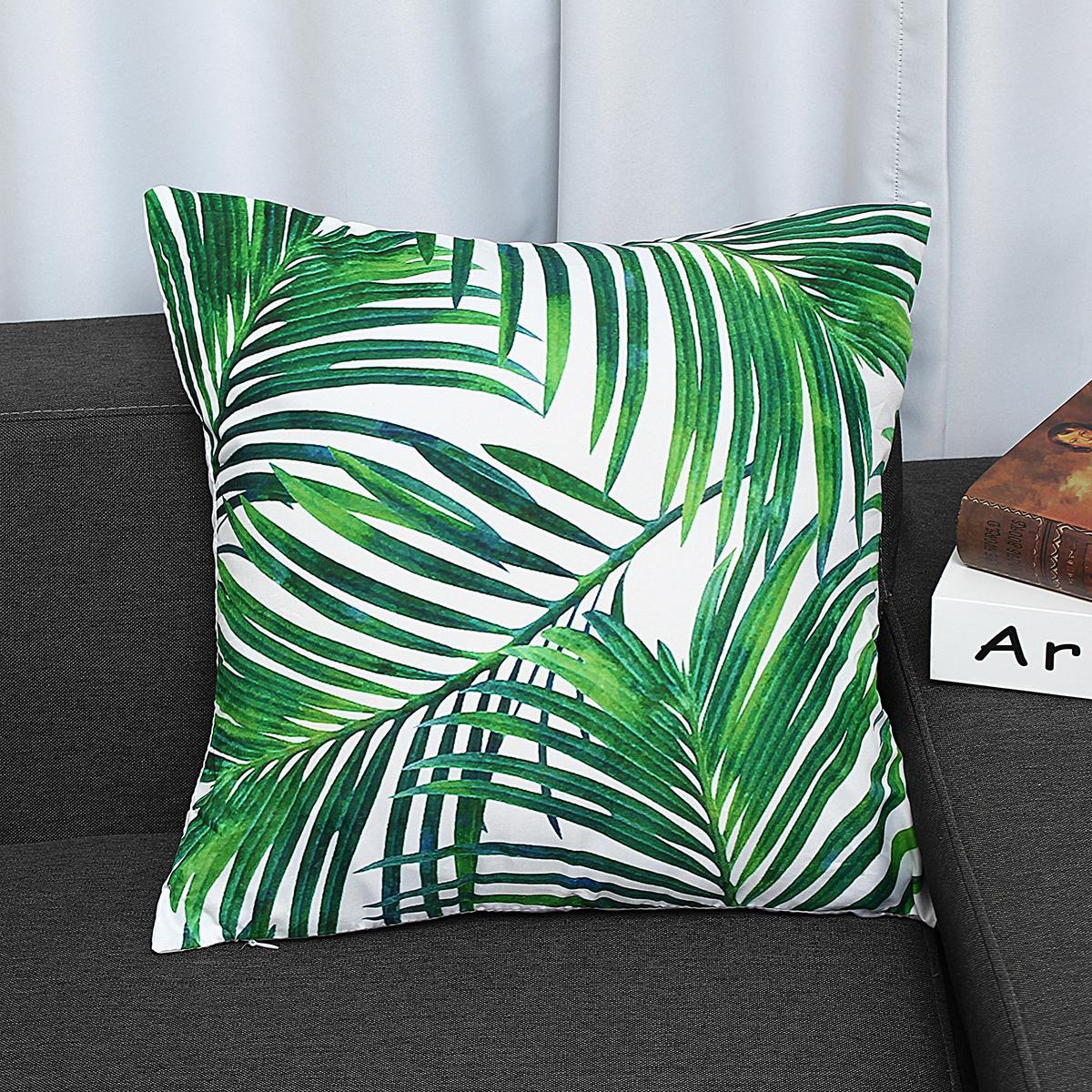 Velvet Pillow Case Cover Green Bedding Leaves Throw Sofa Car Waist Cushion Home Decor Tpr138 21 Buy Online At Best Prices In Bangladesh Daraz Com Bd