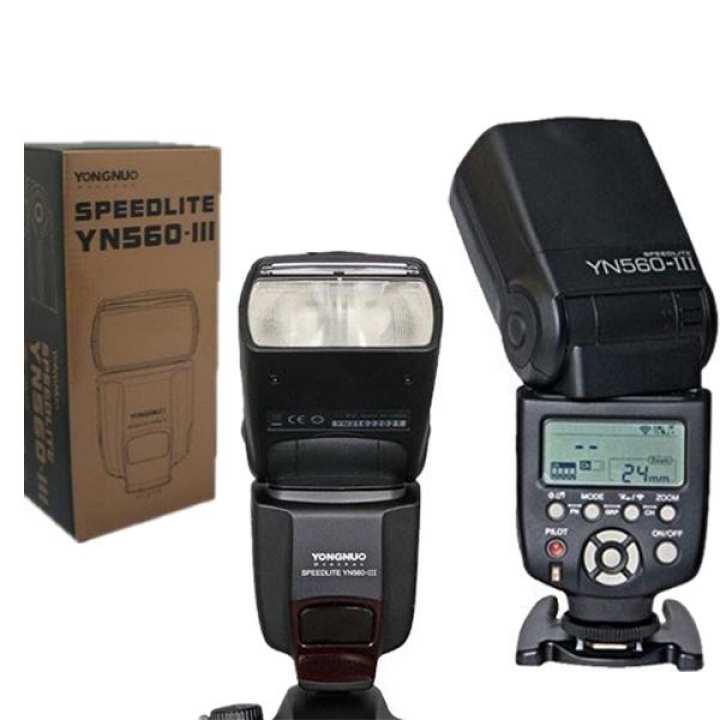 Speedlite Flash Speed Light YN560 IV - Black