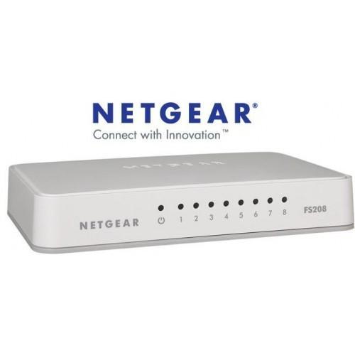 Netgear FS208 8-Port Desktop Switch