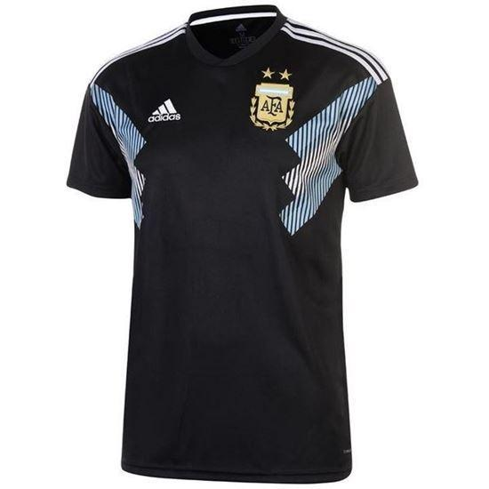 b53a7d9fa Argentina Away World Cup Short Sleeve Jersey 2018 - Black (Thailand)
