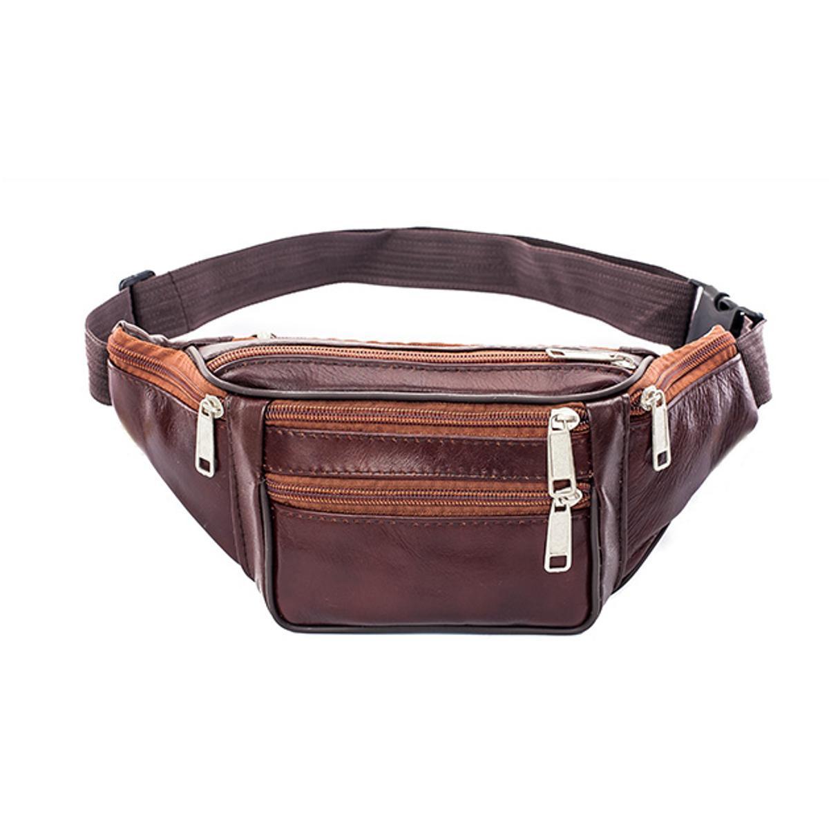 f56f4c574934 Waterproof Waist Fanny Pack Belt Bag Pouch Travel Sport Hip Purse Men Women  Black/Yellow,/Khaki/Coffee/Brown