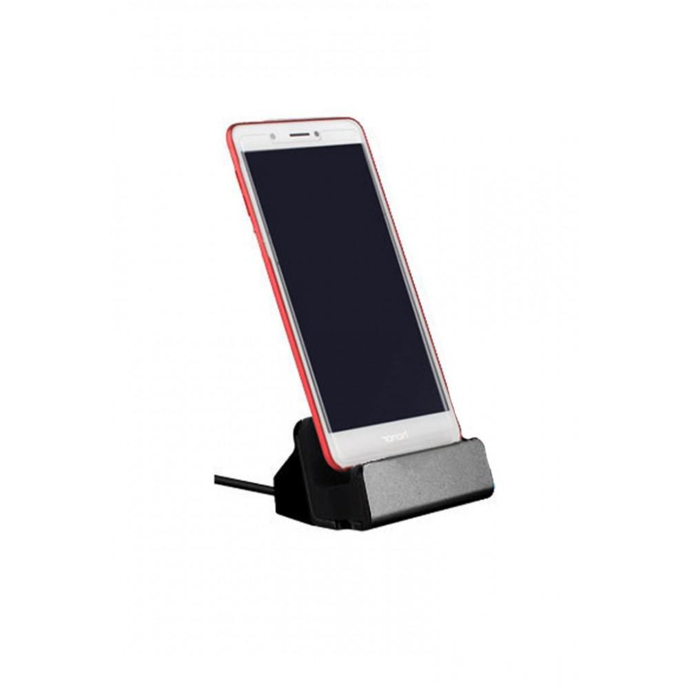 Type-C Dock Charger for Smartphones - Black