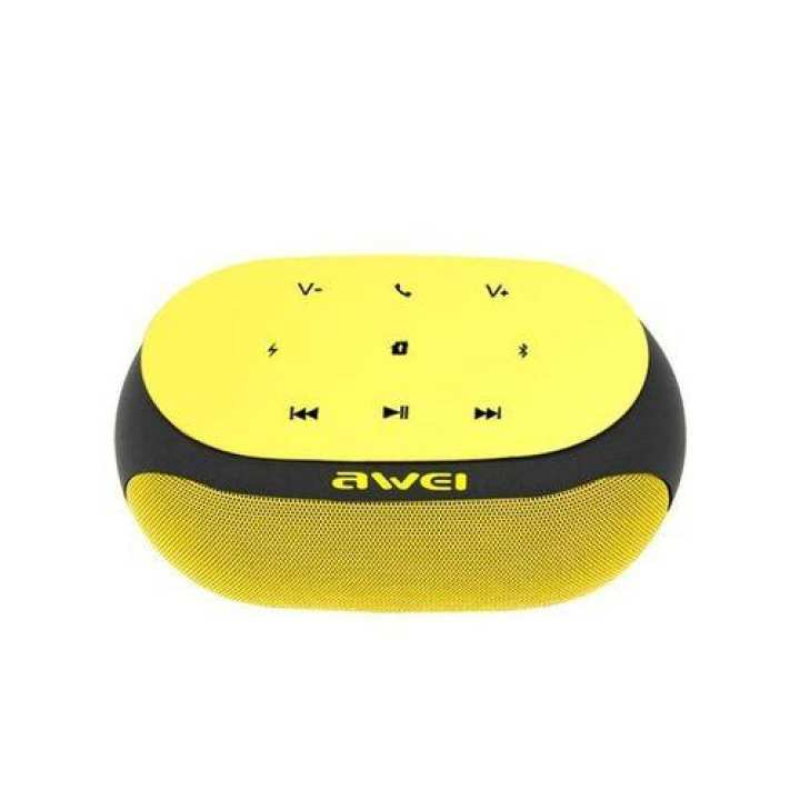 Y200 - Wireless Bluetooth Speaker - Yellow and Black