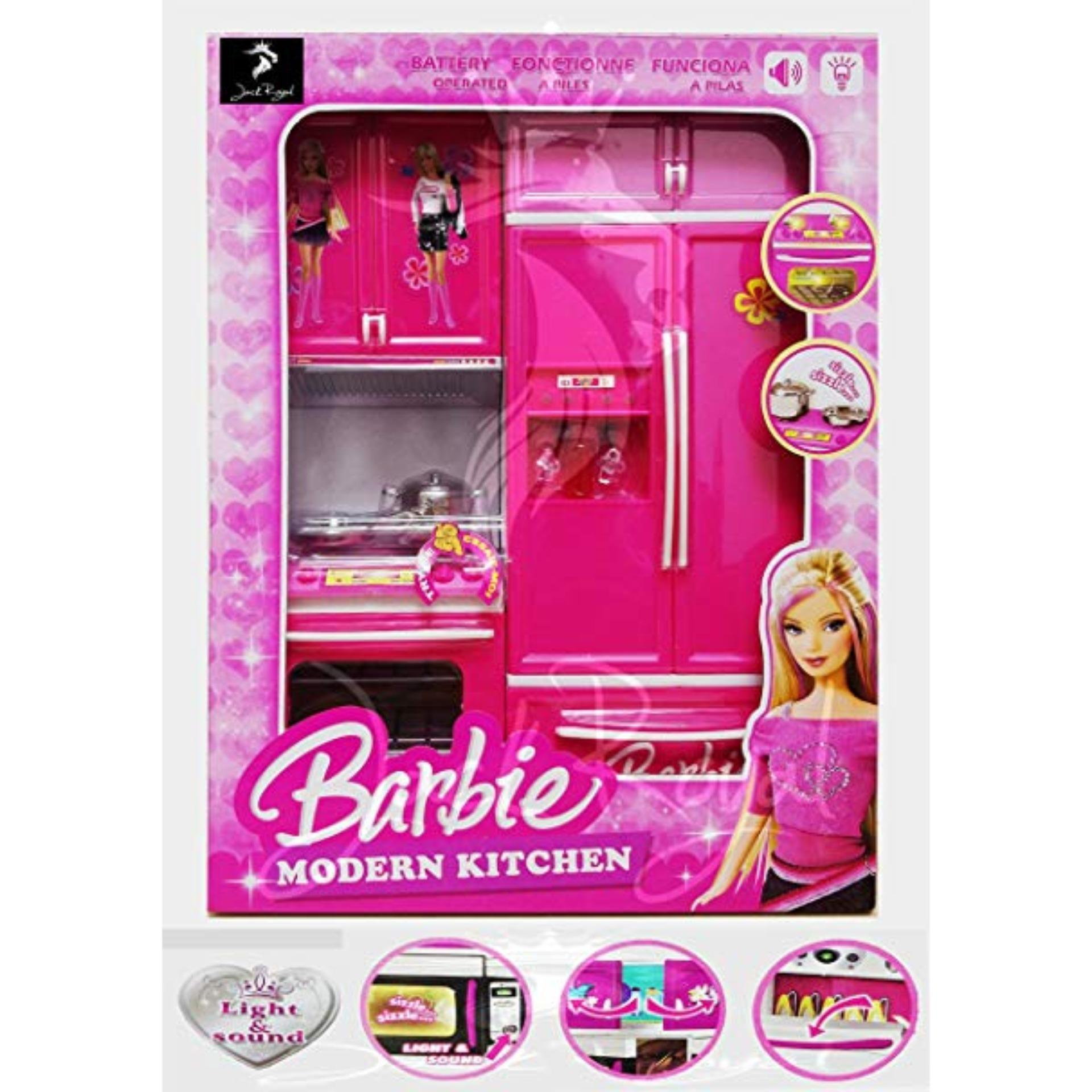 Barbie Kitchen Set Barbie Furniture Dress Up Doll Accessories Toy For Girl Toy Buy Online At Best Prices In Bangladesh Daraz Com Bd
