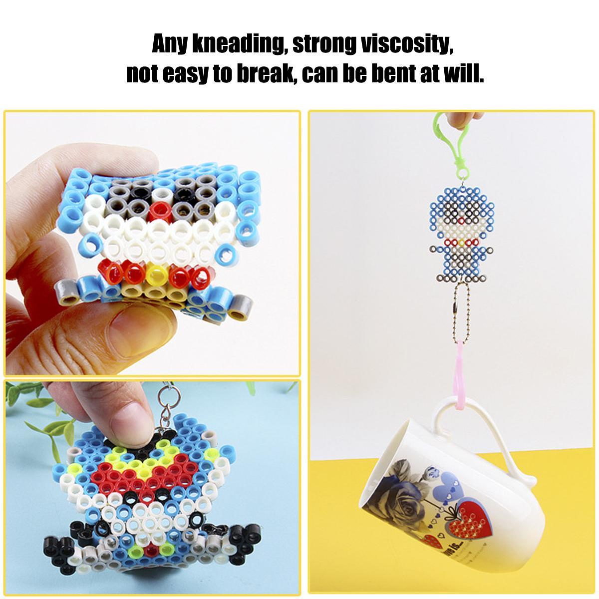 10000Pcs Refill Water Bead DIY Fuse Beads Perler Sticky Toys Kids Child  Craft !
