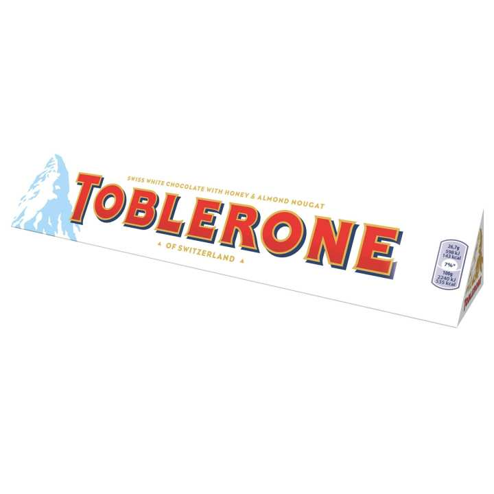 Toblerone Milk Chocolate - White - 100g