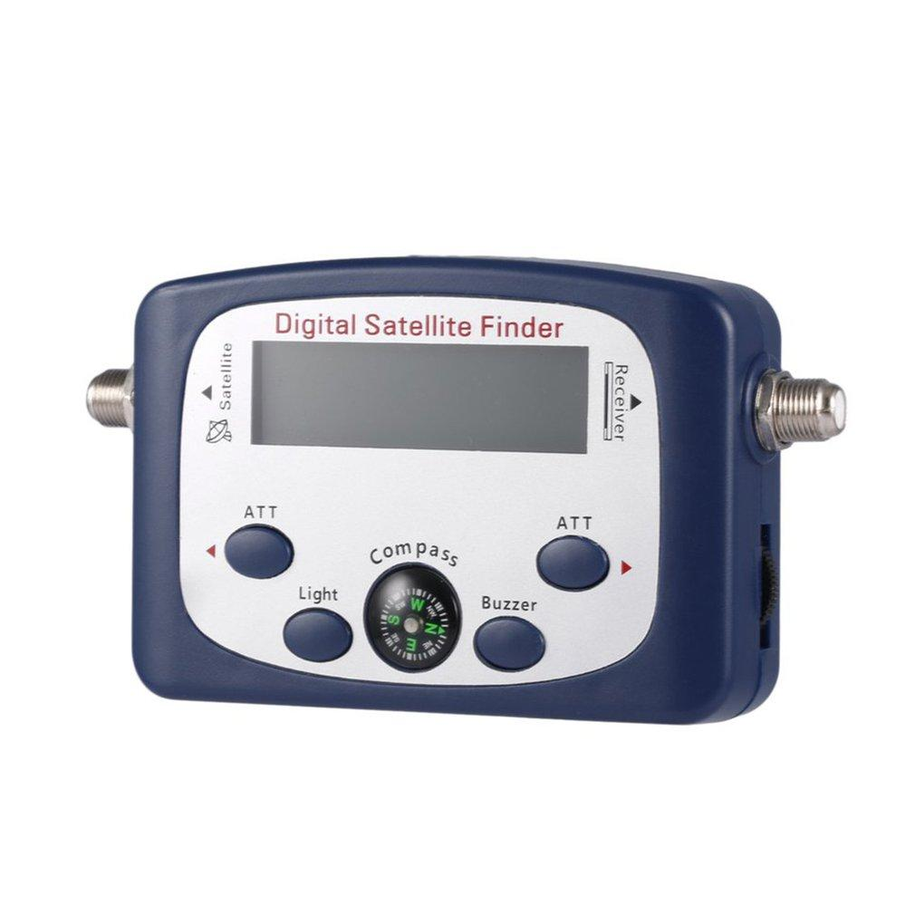 JS-SF06 Digital LCD Satellite Finder Satellite Signal Searcher&Strength Meter blue