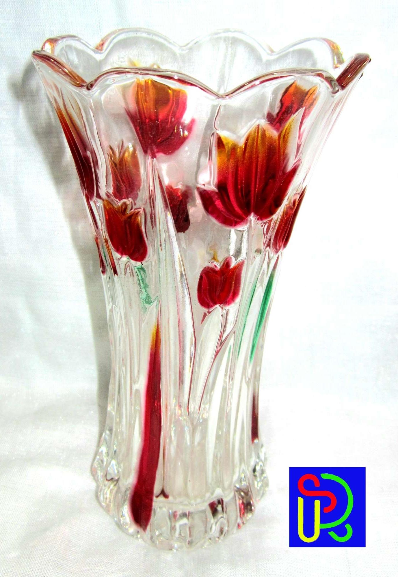 Crystal Glass Decor Flower Vase Buy Online At Best Prices In Bangladesh Daraz Com Bd
