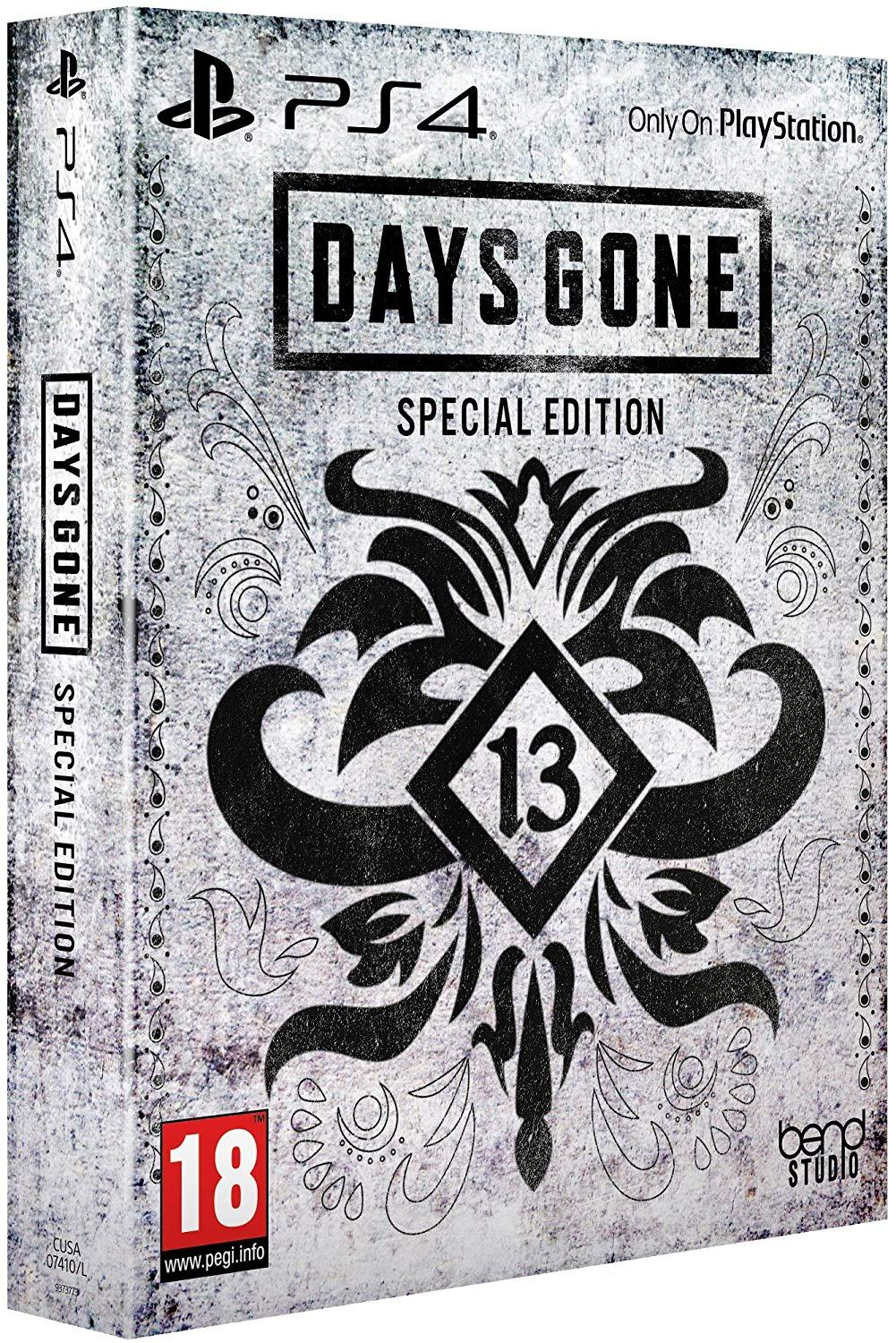 days gone special edition price