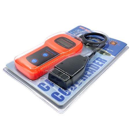 C27 Auto Diagnostic Tool OBDII Mini OBD2 EOBD Automotive Scanner Scan Tool  Code Reader for Car Truck-Orange