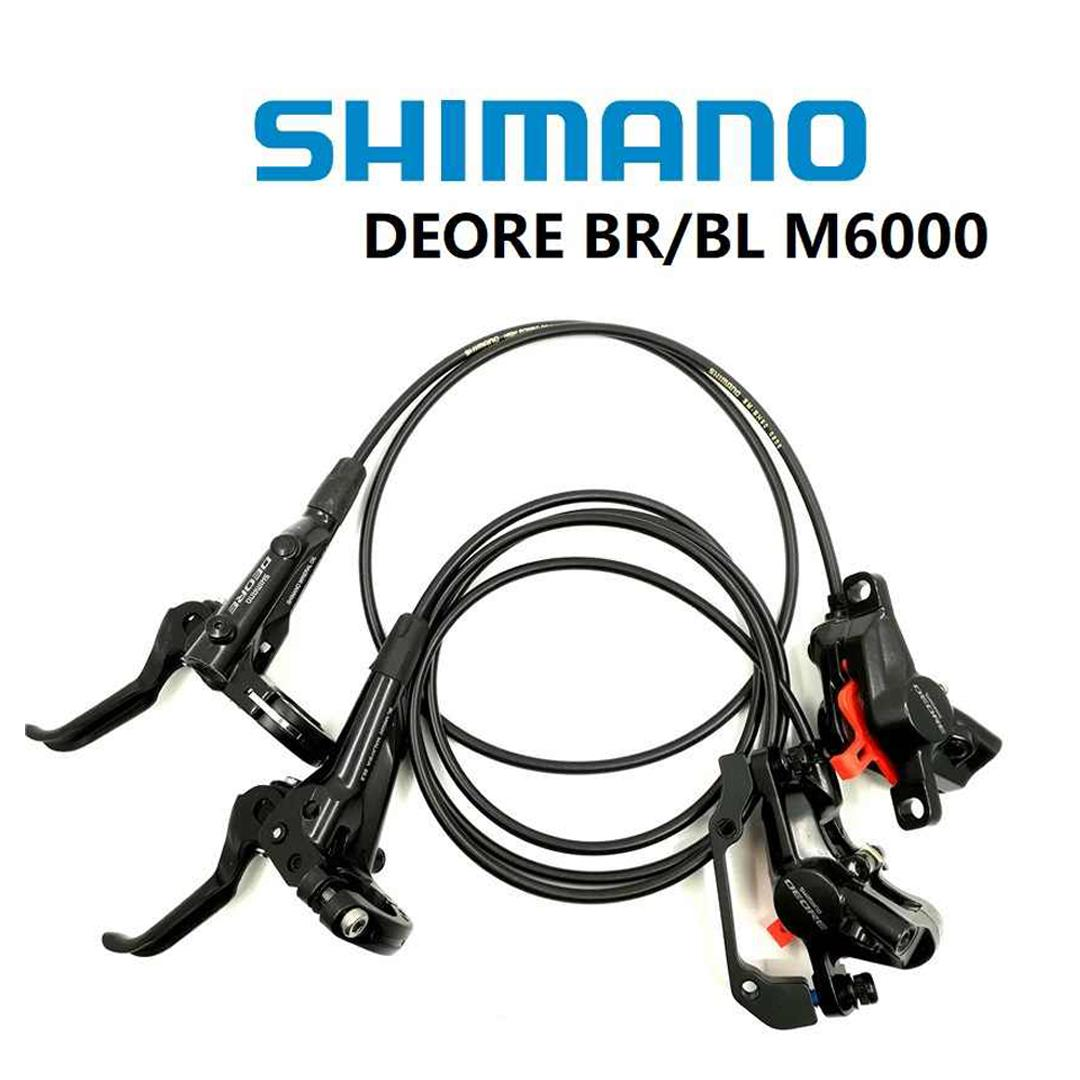Shimano DEORE BR BL M6000 Front Rear Brake Set