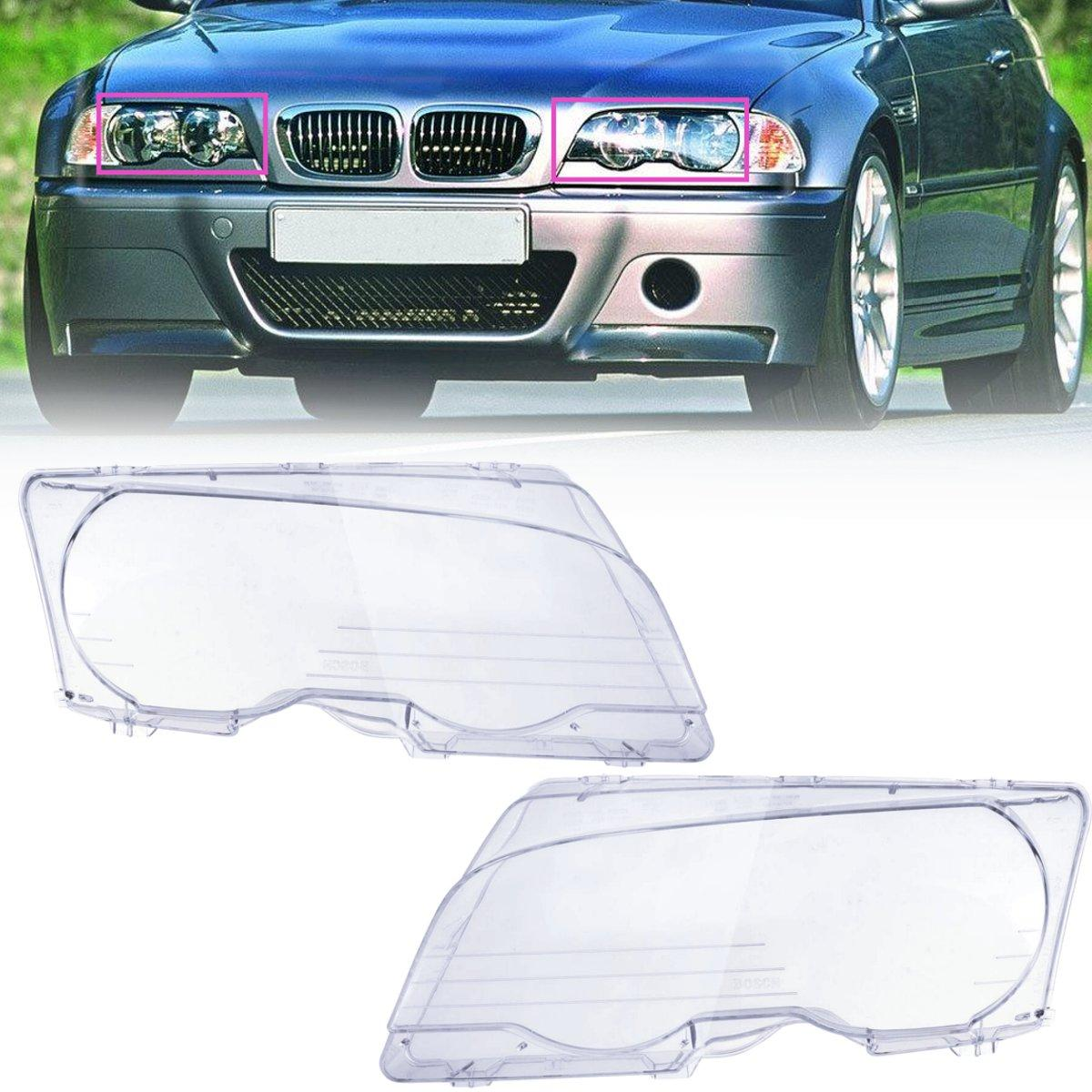 L R Headlight Cover Headlamps For Bmw M3 E46 Coupe Convertible 2dr 2001 2005 Buy Online At Best Prices In Bangladesh Daraz Com Bd