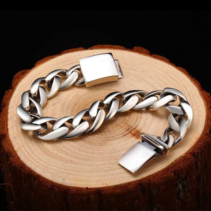 Men's Powerful Stainless Steel Bracelet