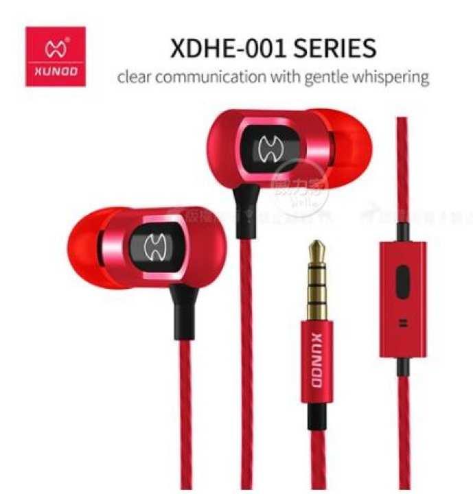 XUNDD XDHE-001 In-Ear high bass Stereo Headphone