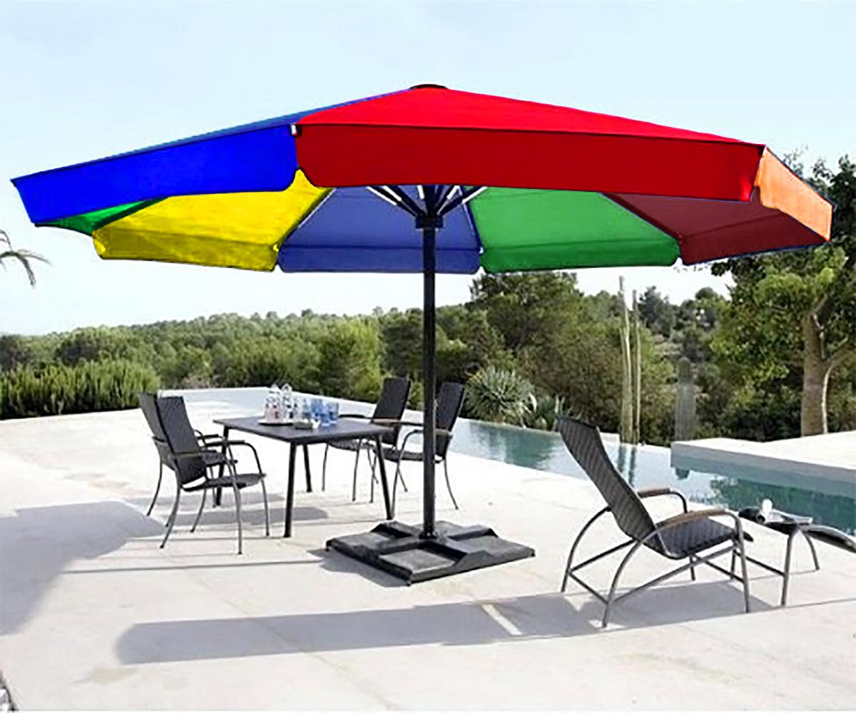 Heavy Duty Rooftop Outdoor Garden Sea Beach Restaurant Or Promotional Large Umbrella Buy Online At Best Prices In Bangladesh Daraz Com Bd