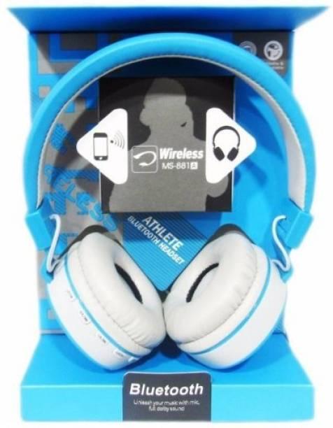 JBL Wireless Headphone - MS-881A - Light Blue