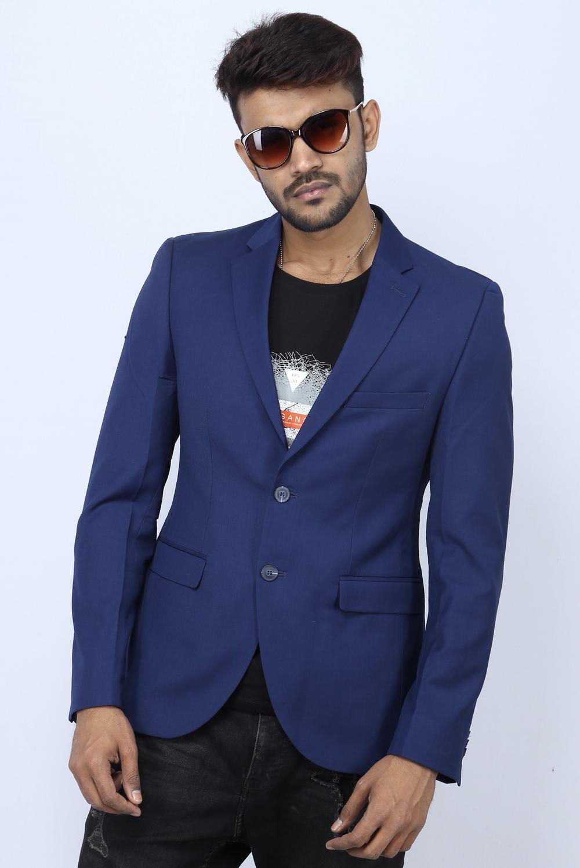 eb01dd4ee Angelo Litrico Slim Fit Casual Blazer - Royal Blue