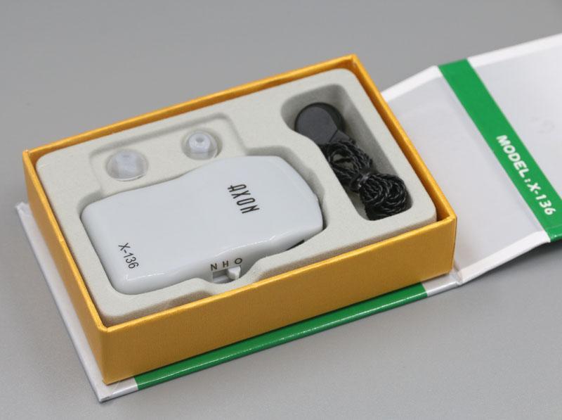Hearing Aid X-136 - Gray