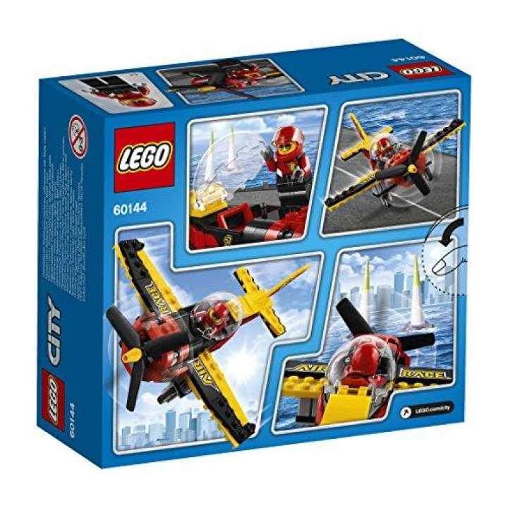 Lego 60144 Race Plane Playset - 89pcs - Multi Color