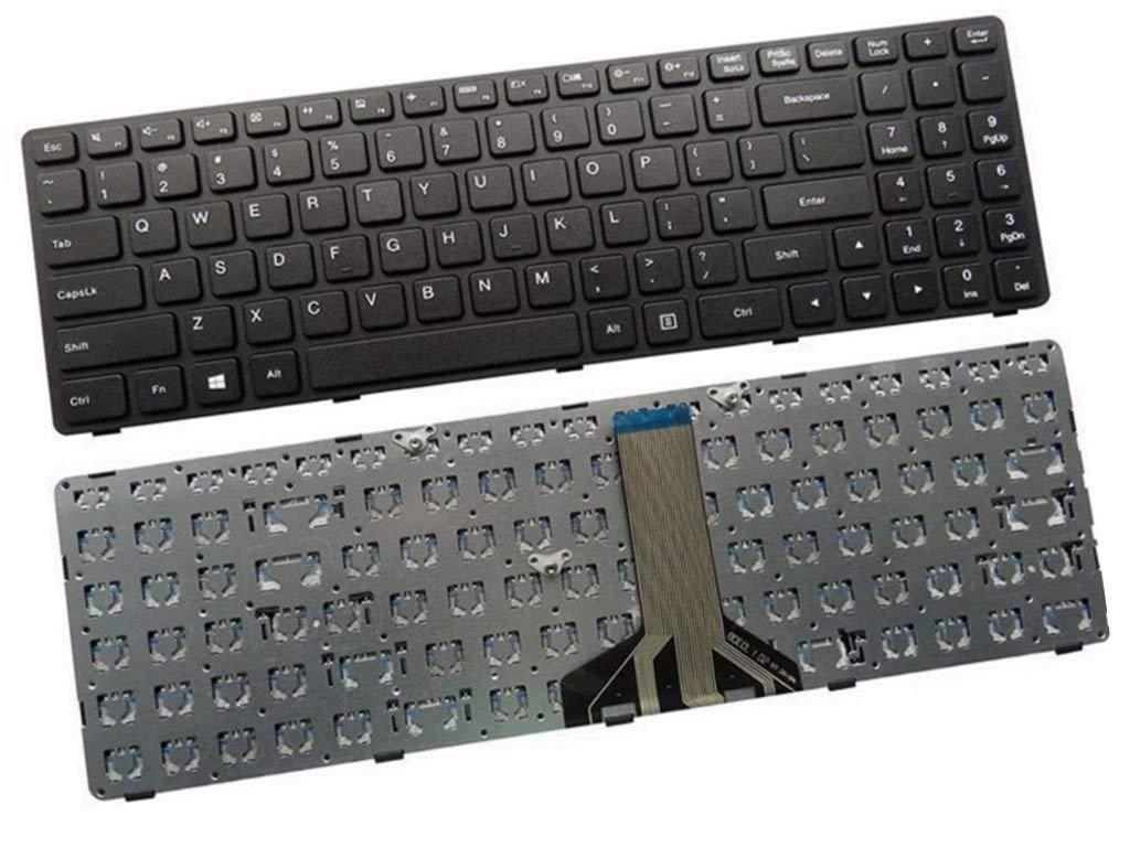 Compatible Laptop Keyboard for Lenovo Ideapad 100-15 100-15IBY 100-15IBD  300-15 B50-10 B50-50- Black