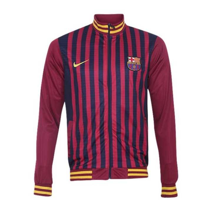 Polyester Full Sleeve Barcelona Jacket For Men