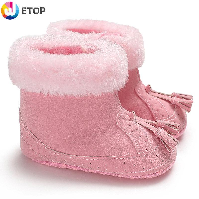 d2d2a61d1c62 Baby Boots Baby Boots toddler boots Soft Bottom boots baby shoes girl girls  boy toddler slippers