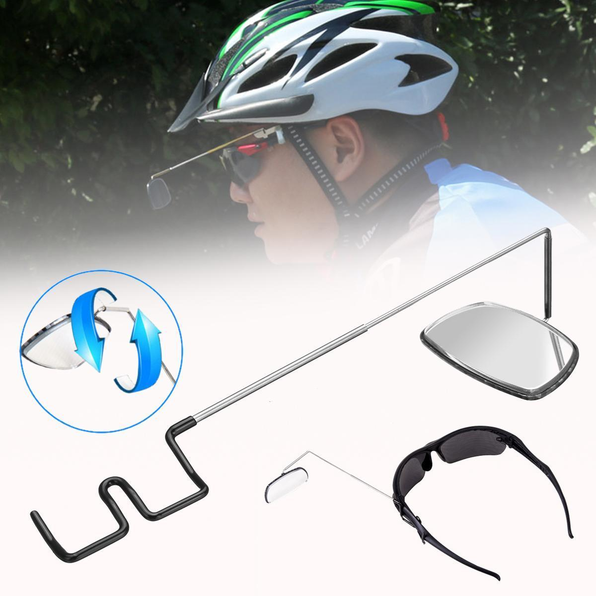 Foldable Bike Bicycle Cycling Rear View Helmet Motorcycle Rearview Safety Mirror