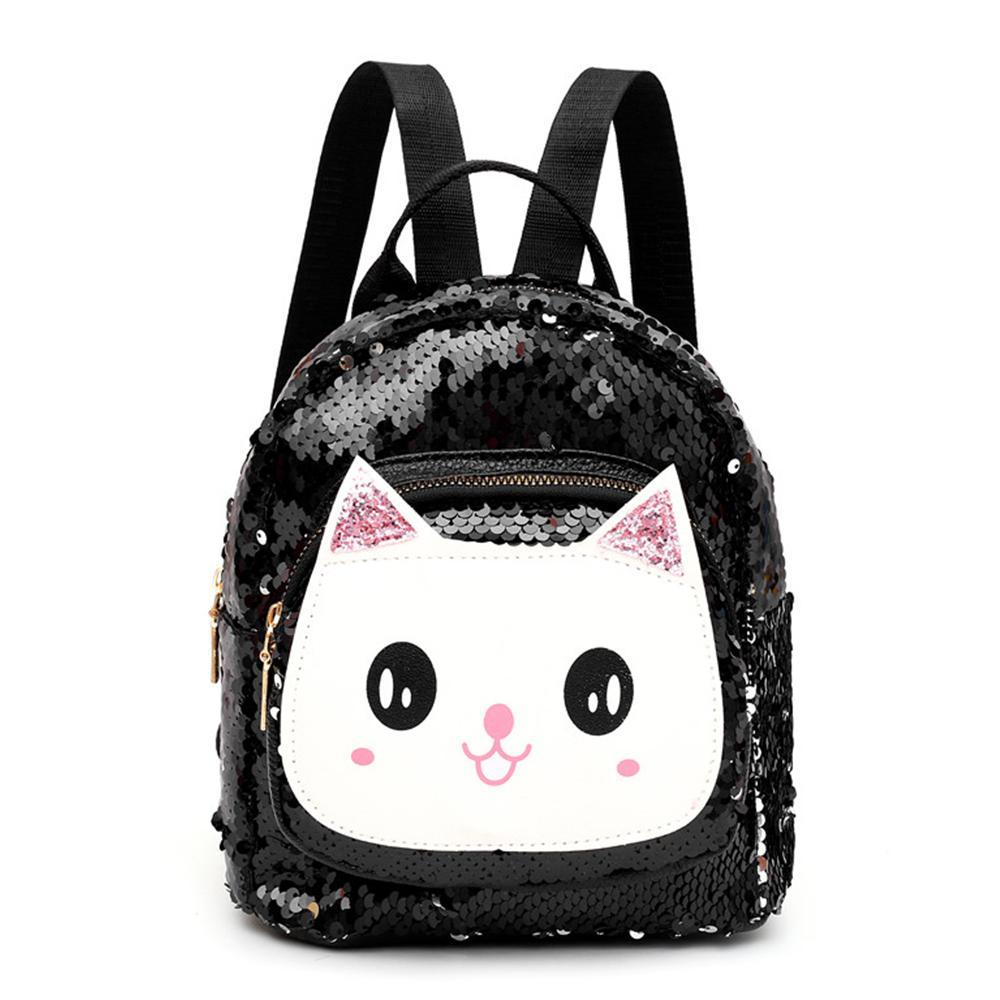 c786e07ab39 Cute Mini Backpack for Teen Girls Fashion Sequin Bag Small Daypacks Purse  for Women Ladies