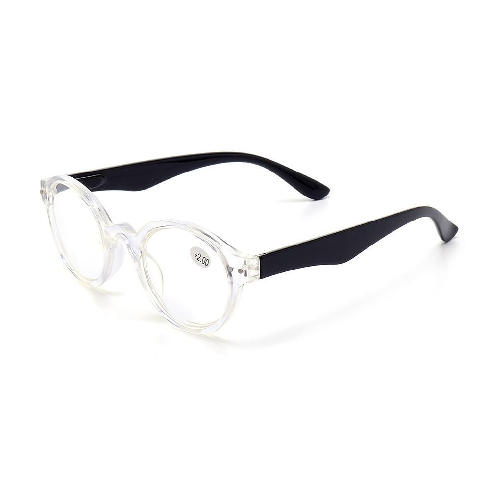 2303bdd642 250 Degree Men Women Round Full Frame Reader Reading Glasses Stylish Retro Computer  Glasses