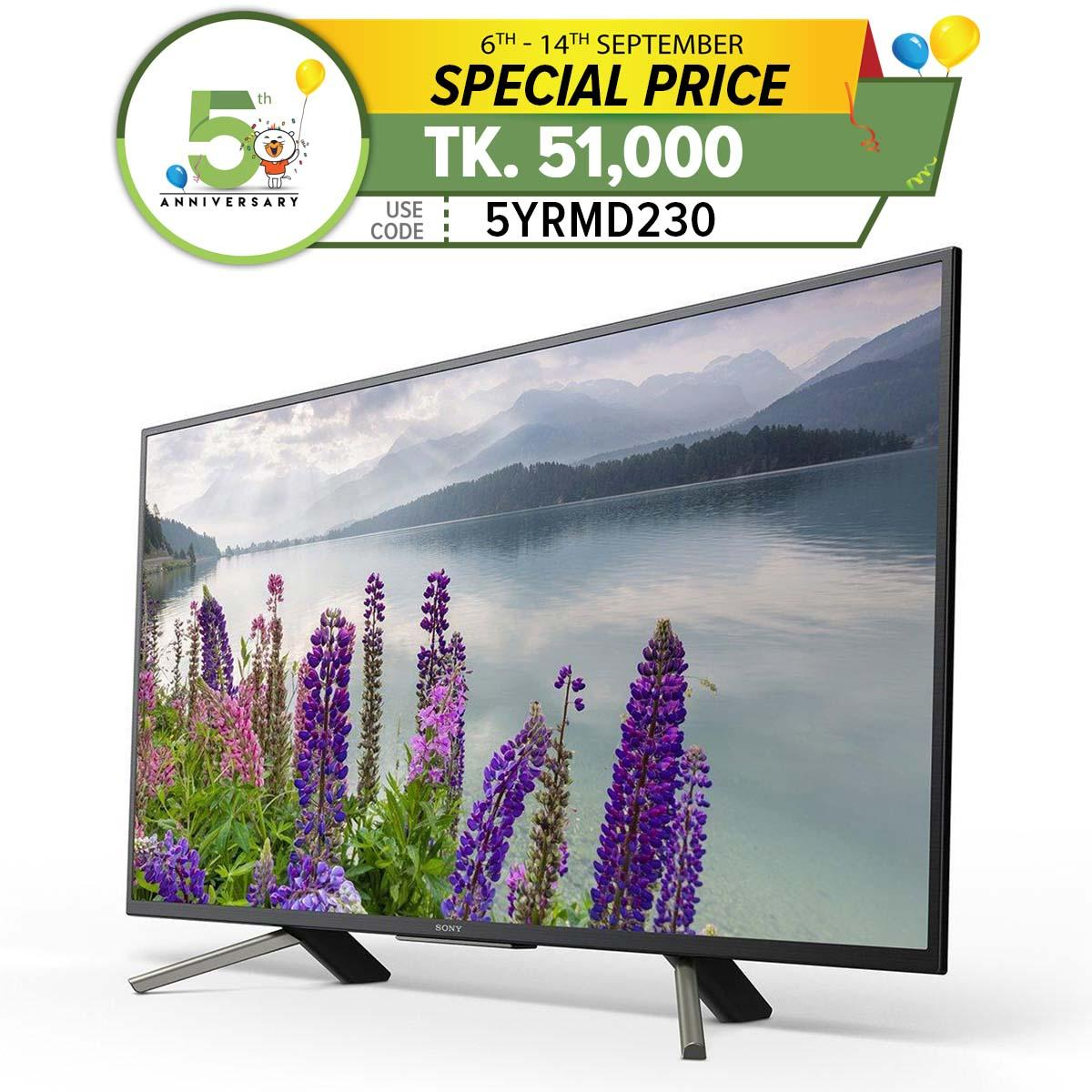 Sony Bravia 49 Inch W800F Android LED TV